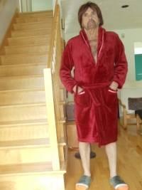Women Men Winter Flannel Robes Long Thick CoralVelvet Couples Sleepwear Bathrobe Lungewear Sleeplounge