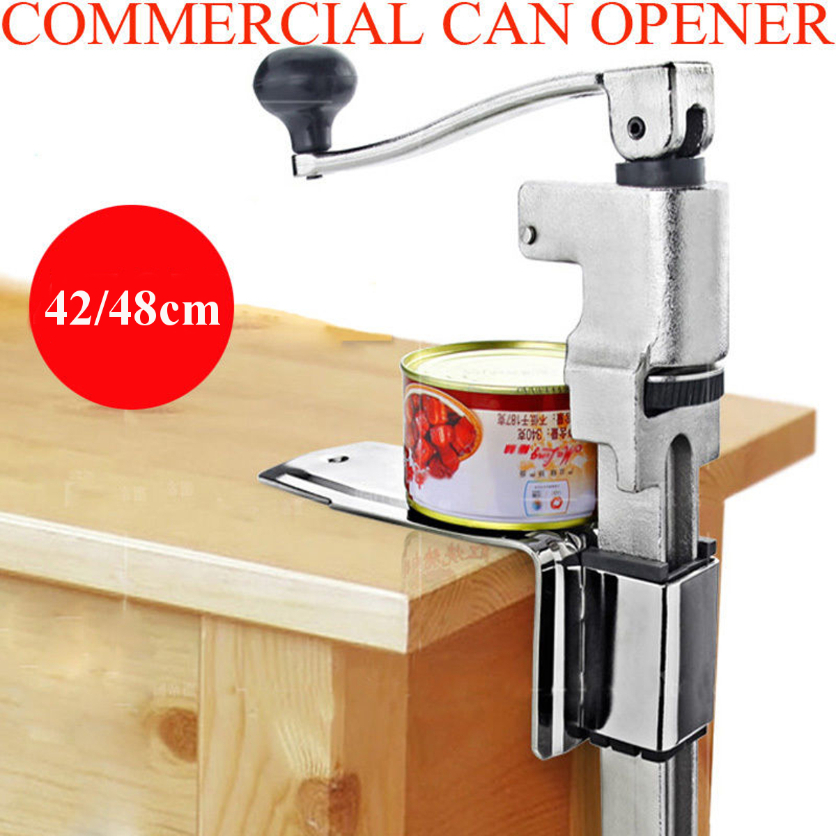 Phenomenal Heavy Duty Large Commercial Can Opener 42 48 Counter Bench Top Mount Cast Table Gmtry Best Dining Table And Chair Ideas Images Gmtryco