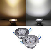 4W Bright LED Recessed Ceiling Down Light 85-265V + Driver