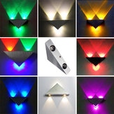 Modern High Power 3W LED Triangle Decoration Wall Light Sconce Spot