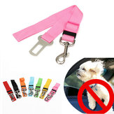 Adjustable Pet Cat Dog Car Vehicle Safety Seat Belt Harness Lead