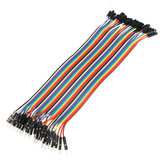 40pcs 20cm Male To Female Jumper Cable Dupont Wire For