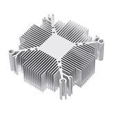 Raffreddamento di alluminio del radiatore del dissipatore di calore di DIY 20W-100W per il chip LED della PANNOCCHIA