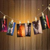 KCASA K-1 Светодиодные лампы String Lights Новогодние украшения 1.5Meters 10Lights