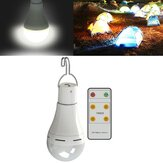 DC5V 9W 5 Modes USB Rechargeable Emergency Outdoor Tent Camping LED Light Bulb+6Keys Remote Control