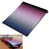 30 cm x 152 cm Chameleon Carbon Vinyl Motorcycle Auto Decoratie Wrap Film