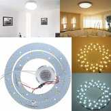27W 5730 SMD LED Double Panel Circles Annular Ceiling Light Fixtures Board Lamp