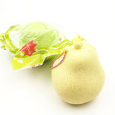 GiggleBread Squishy Pear 8.5cm Slow Rising Original Verpakking Fruit Squishy Collection Gift Decor