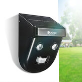 Digoo DG-SSR-1 Gardening Solar Wireless PIR المستشعر Long مسافة ضد للماء Wall Outdoors Wall Lamp