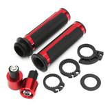 7/8inch 22mm Motorcycle Handlebar End Hand Grips For Suzuki/Kawasaki/Yamaha/Honda