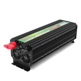 DC 12 V / 24 V Para AC 220 V 5000 W Power Inverter Conversor Carregador Dual LCD Display 10000 W Pico