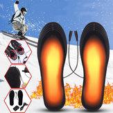 5V Soletta scarpa elettrica da 2 piedi sottopiede scarpetta riscaldatore riscaldatore riscaldatore riscaldante USB con adattatore
