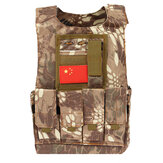 Kids Children Tactical Military Vest Assault Combat Gear Army CS Play Hunting Protective Aemor