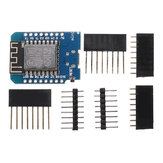 WeMos® D1 Mini V2.2.0 Placa de Desenvolvimento de Internet WIFI com ba<x>se ESP8266 4MB FLASH Chip ESP-12S