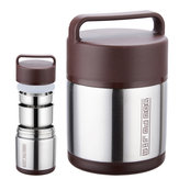 Vacuum isolierte Lunch Box Edelstahl Jar Hot kalten Thermos Food Container