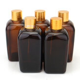 5Pcs Amber Glass Bottles for Essential Oil Perfume