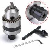 1.5-10mm Elétrica Broca Mandril com 5mm Aço Montagem Do Eixo B12 Orifício Interno Broca Adaptador de Mandril