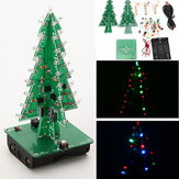 Geekcreit® DIY Kerstboom LED Flash Kit 3D elektronische leerset