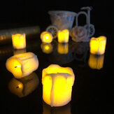 4.3 * 4.5cm Batteria Powered Flameless LED Lampada da tavolo Candle Night Light Decorazione natalizia di Halloween