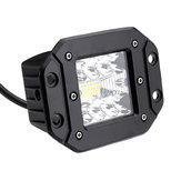 5Inch Flush Mount LED Work Light Pods Combo Beam IP68 9-32V 48W 2400LM 6500K 1PCS