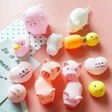 New Squishy Rosa Pig Cartoon Soft Simpatico animaletto spremere il suono spremere chiamato Slow Rising Decompression Toy