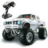 HG P407 1/10 2.4G 4WD Rally Rc Auto per TOYATO Metallo 4X4 Pickup Truck Rock Crawler RTR Toy