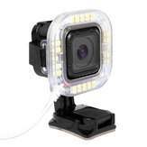 1.9W 160 LM 38st USB LED-zaklamp Ring voor GoPro Held 4 Sessie