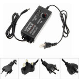 Excellway® 3-12V 5A 60W AC/DC Adapter Switching Power Supply Regulated Power Adapter Display