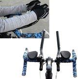 Bicicletta della strada mountain bike in lega tt separati pvc manico resto bar relax vizio manubrio