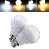 B22 5W 14 SMD 5630 Sıcak Beyaz / Beyaz Küre Toptan Ampuller Plastik Lamba Işıklar 220-240V