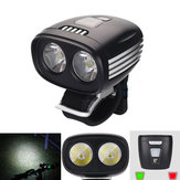 XANES SFL08 1500LM 2x U2 Intelligent Sensor Cycling Bike Light Power Display IPX6 Waterproof Front Light USB Plug