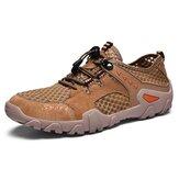 Mesh Breathable Slip Resistant Outdoor Hiking Sneakers