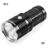 BLF Q8 4x XP-L 5000LM Professionele meervoudige bedieningsprocedure Super Bright LED zaklamp