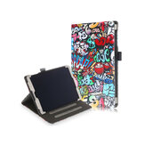 Folio Stand Tablet Hoes Hoes voor Samsung Galaxy Tab A 10.1 2019 T510 T515 - Doodle