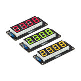 LED Display Tube 4-Digit 7-segments Module RobotDyn for Arduino - products that work with official Arduino boards