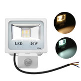 20W 36 LED PIR Motion Sensor Outdoor Flood Light Waterproof IP66 Garden Street Spotlight AC220V