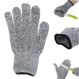 Cut Resistant Anti Abrasion Safety Working Protective Gloves Army-Grade Level 5