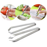 Acier inoxydable Détecteur d'os de poisson Pincer Puller Tweezer Tongs Pick-Up Tool Craft Home Kitchen Gadget