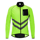 WOSAWE Reflective Watorproof Bike Bicycle Cycling Sport Clothing Jacket Windproof Rain Coat Jersey