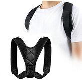姿勢鎖骨支持矯正器背中ストレート肩矯正ストラップ正しい背中のサポート