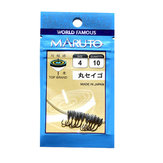 ZANLURE 50pcs Maruseigo #4 Jig Head Hooks Fishing Lead Head Hooks Fishing Hook Tackle