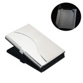 IPRee® Stainless Steel Metal Card Holder Credit Card Case Travel Portable ID Card Storage Box
