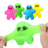 Leuke Squeeze Man Squishy Stretchy Pop 10 cm Stress Reliever Decomprimeren Gift Decor Speelgoed