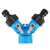 3/4 Inch Two Way Y Tuinslang Tuin Splitter Tap Connector Waterslang Pipe Connectors