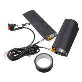 12V 15W Motorcycle Heating Handle Grip Sleeve Handlebar Cover + Sheet w/ Switch