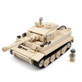 Kazi 995Pcs German Tiger Tank Building Blocks Toys Regalo educativo # 82011 Fidget Toys