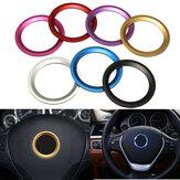 Coche Anillo de acero Centro de ruedas Cubierta de anillo de decoración Apto para BMW 1 3 4 5 7 Serie