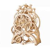 3D Самосборка Деревянный Маятник Часы Механический Gears Building Kits Головоломки Здание Модель Подарок