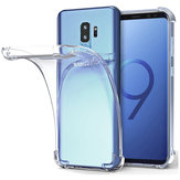 Air Cushion Corner a prueba de golpes Soft TPU Caso para Samsung Galaxy S9 Plus