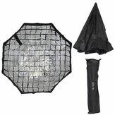 Apparecchiatura dello studio di fotografia di Softbox dell'ombrello dell'ombrello di griglia del favo di 80CM 31,5 pollici istantaneo